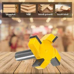 Durable CNC Spoilboard Surfacing Router Bit 1/2 Inch Shank C