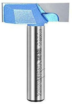1/2-Inch Shank 2-Inch Cutting Dia Double Flute Carbide Tippe