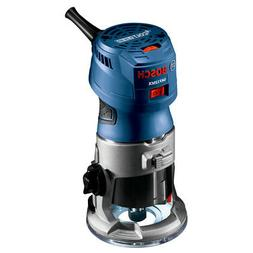 Bosch 1.25 HP Variable Speed Palm Router with LED GKF125CEN