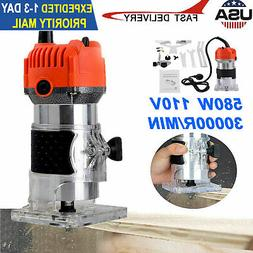 1/4'' Electric Hand Trimmer Wood Laminate Palm Router Joiner