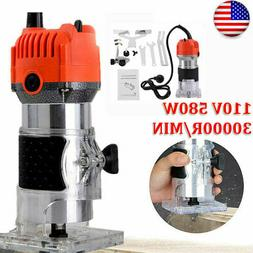 1/4''inch Electric Hand Trimmer Wood Laminate Router Joiner