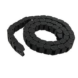 10 x 15mm Black Plastic Drag Chain Cable Carrier For CNC Rou