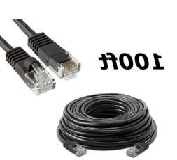 100 FT Cat5 RJ45 Ethernet LAN Network Cable for PC Xbox PS I