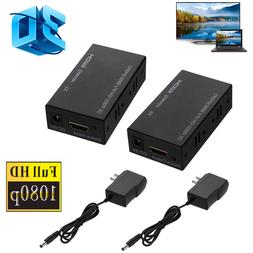 3D 1080P HDMI Network Extender Over Single Cable CAT5E/6 Eth