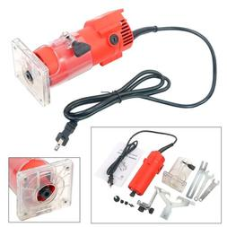 110V 300W Power Trim Router Woodworking Edge Molding Clean C