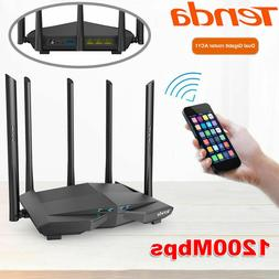 Tenda 1200Mbps 2.4GHz/5GHz Dual Band WiFi Router Wireless Re