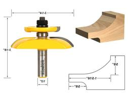 Yonico 12135 Raised Panel Router Bit with Backcutter Cove 3-