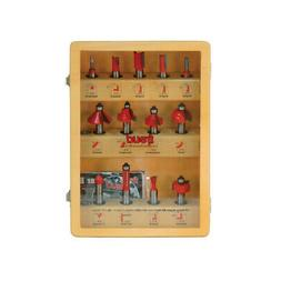Freud 91-100 13-Piece Super Router Bit Set with 1/2-Inch Sha