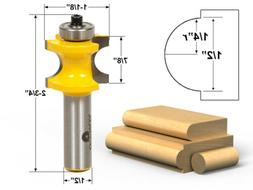 Yonico 13115 Bullnose Router Bit with 1/4-Inch - 1/2-Inch Be