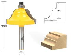 Yonico 13124q Double Roman Ogee Edging Router Bit with Large