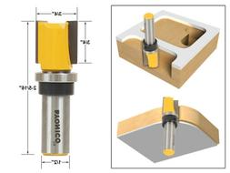 "Yonico 14131 Pattern Trim Template Router Bit with 1/2"" Shan"