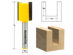 "Yonico 14159q Straight/Dado Router Bit with 1/4"" Shank, 5/8"""