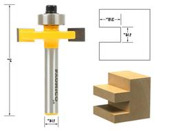 "Yonico 14184q Slotting & Rabbeting Router Bit with 1/4"" Shan"