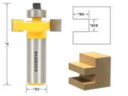 "Yonico 14185 Slotting & Rabbeting Router Bit with 1/2"" Shank"