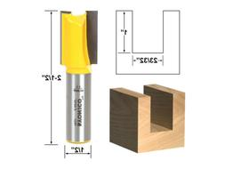 Yonico 14924 Undersized Plywood Straight Dado Router Bit wit