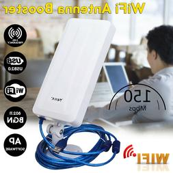 150Mbps Long Range WiFi Extender Wireless Outdoor Router Rep