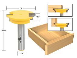 15133 drawer front joint router bit with reversible 1/2-inch