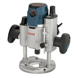 Bosch 2.3 HP 15.0 A Electronic Plunge-Base Router MRP23EVS N