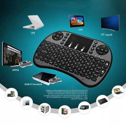 2.4G Mini Wireless Fly Air Keyboard Mouse Remote Touchpad Fo