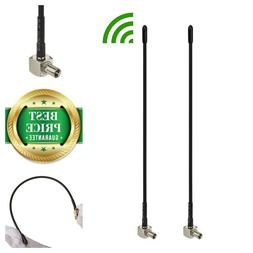 2-Pack 4G LTE 3dBi Soft Whip External TS9 Antenna Mobile WiF