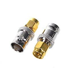 2 PC RF Coax Coaxial SMA Male Plug to BNC Female Radio Anten