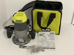 Ryobi 8.5 Amp 1-1/2 Peak HP Router Corded Wood Shop Working