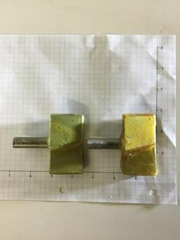 2 Router bits 1/2 shank. Forest City Tool. CNC. Unground.  C