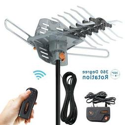 200Miles TV Antenna Amplified Long Range Outdoor HD Digital