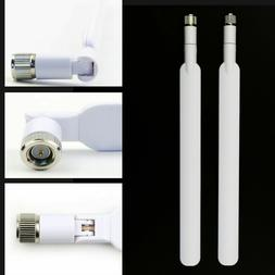 2x Durable WIFI 4G LTE External Router White 5dBi Antenna fo