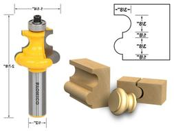 """3/16"""" Radius Flute and Bead Router Bit - 1/2"""" Shank - Yonico"""