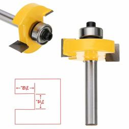 "3/8"" T-Type Slotting & Rabbeting Router Bit 1/4"" Shank Woodw"