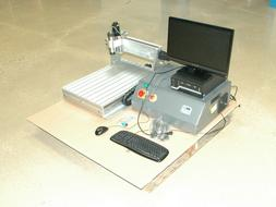 3 Axis CNC Router Package with Computer, Monitor, and Access