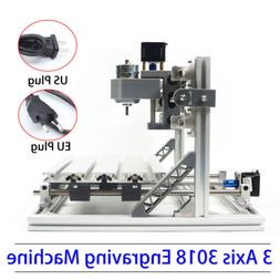 3 Axis Desktop CNC Router Kit 3018 + GRBLCONTROL Engraving M