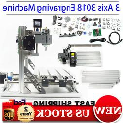 3 AXIS MINI CNC Router 3018 Engraving Milling Engraver Machi