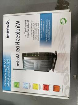 Actiontec 300 Mbps Wireless-N ADSL Modem Router GT784WN