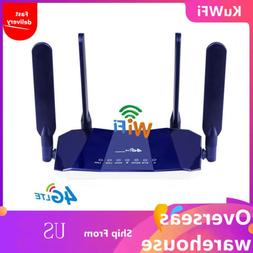 KuWFi 4G LTE Wireless CPE WiFi Router 300Mbp with SIM Card S