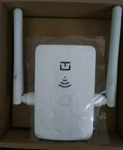 300Mbps WiFi Wireless Repeater Router Wall Plug Receiver w/