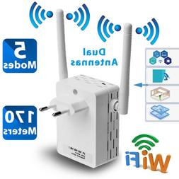 300Mbps Wireless-N Range Extender WiFi Repeater Booster Netw
