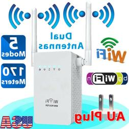 300Mbps Wireless-N WiFi Repeater Range Extender Signal Boost