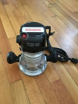 Craftsman 320.27683 12 amp Fixed Base Router with Variable S