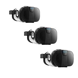 HooToo 3D VR Headset with Magnetic Trigger - 3 Pack