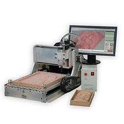 4 axis cnc small wood design router 3040 800W wood engraving
