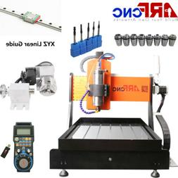 ARFCNC 6040 2200W CNC Router Engravering Machine For Wood Ac