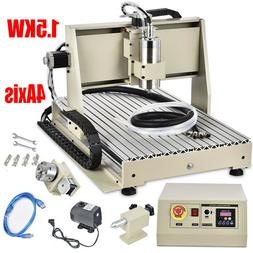 4AXIS USB CNC Router 6040 Engraver Machine Mill Metal Woodwo