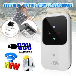 4G 3G LTE Mobile Broadband WIFI MiFi Router Wireless Hotspot