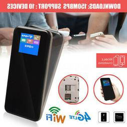 4G LTE FDD WiFi Router Mobile Hotspot Modem 8800mAh Battery