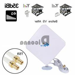 4G LTE Wall Mount Panel TS9 35dBi Antenna for 4G Mobile WiFi