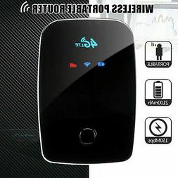 4G WIFI Router UNLOCKED 150Mbps LTE Mobile Broadband Hotspot