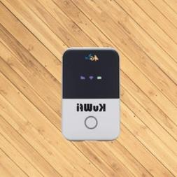 KuWFi 4G wiFi Router with SIM Card Slot Unlocked Support AT&