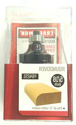 "CRAFTSMAN 5/16"" ROUNDOVER CARBIDE TIPPED ROUTER BIT 9-64231"